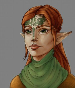 Dalish by luvian-elf