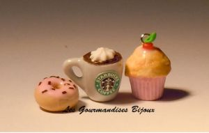 FIMO STARBUCKS CHARM by GourmandisesBijoux