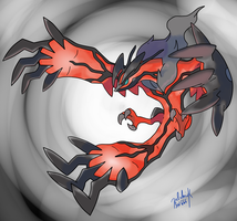 Yveltal by palahniuksin666