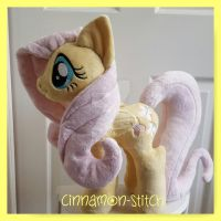 mlp plushie commission FLUTTERSHY by CINNAMON-STITCH