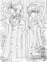 Kaname And Zero by Ellwell