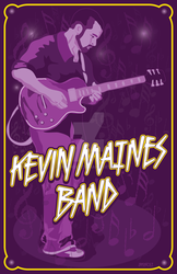 Kevin Maines Band in Purple by jmgnole