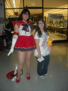 me with sailor mars from sts by keybladeprincess
