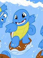 Squirtle by professorhazard