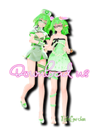 TDA Gumi Elf and Nurse {10+ watcher gift DL} by NekoLovi-chan