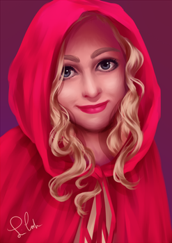 Red Riding Hood by MomoiroGirl