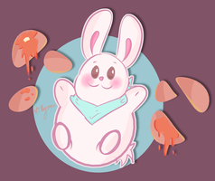 Bunny Pancakes by Millymew