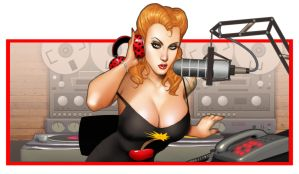 On the Air with Lisa by ArtbroSean