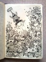 DAILY DOODLES: Thor by kerbyrosanes