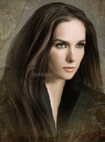 Natalia Oreiro digital painting by perlaque
