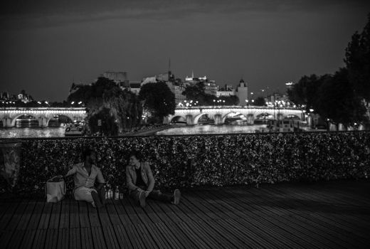 - Pont des Arts - by Margote