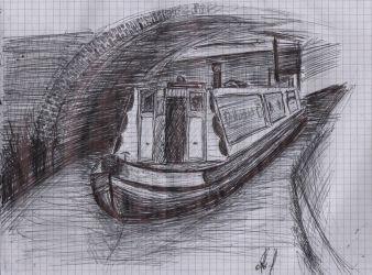 Boat Sketch by olls96