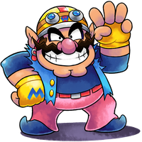 ''Mario+Luigi'' RPG Style: Wario (Biker) by MAST3R-RAINB0W