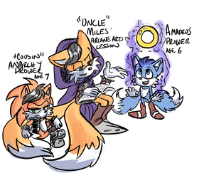 Uncle Miles' Arcane Arts Lesson by ZoomSwish