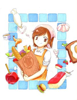 Cooking Mama 3 by LotsaLeaves