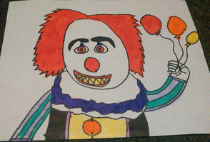 Pennywise The Clown Drawing by TwistedDarkJustin