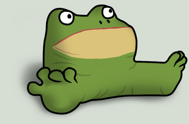Get out frog by callegg