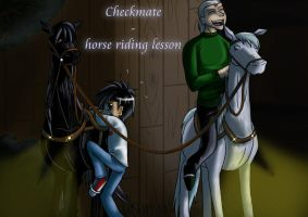 Checkmate horse riding lesson by Metaltrude