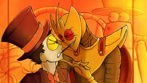 Superjail: The pocky game by BlueStripedRenulian