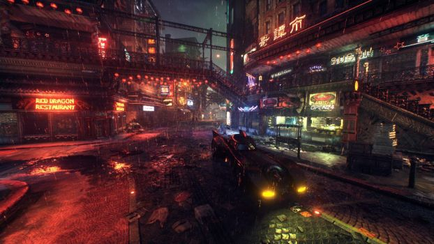 Neon Streets by TheYump