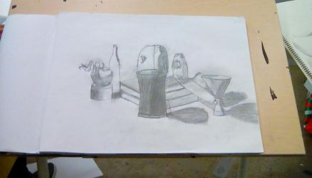 Art Class Still Life from January by JamieAgathaRose
