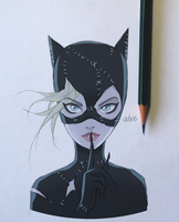 Selina - Catwoman [Color] by Vichuis