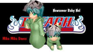 MMD Newcomer Baby Nel by mbarnesMMD