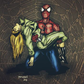 The Death of Gwen Stacy by Birdfish420