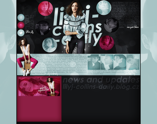 layout ft. lilly collins by Andie-Mikaelson