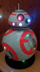 Star Wars BB-8 finished! *LIGHTS ON* by Yonato