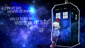 Where do you want to start? | Undertale/Doctor Who by NiuniuNuko