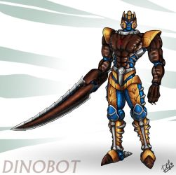 Dinobot + brand new sword by Wegons