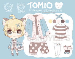 (RE-VAMPED) [open] Adopt 003 - Tomio by candydips