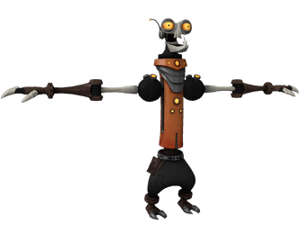 Ratchet and Clank: ToD - Rusty Pete by o0DemonBoy0o