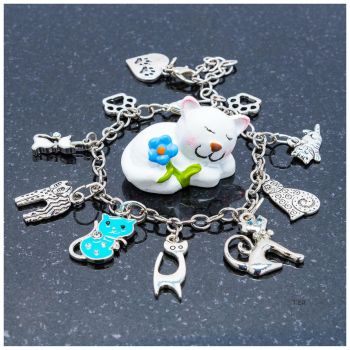 Charming Kitty Charms by TeaPhotography