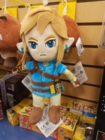 Breath of the Wild Link Plushie by Silvermoonlight217