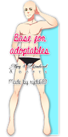 P2U Male Base for Adoptables and more by KingnLionheartAdopts