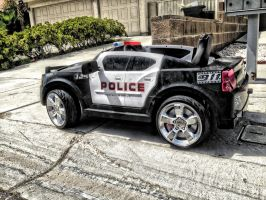 POLICE CAR 911 in HDR by AthenaIce