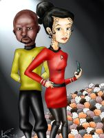 Dax and Sisko Finished by LOSHComixfan