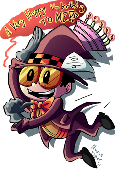 ::SJ: Chibi Hatter Warden:: by TheBealeCiphers