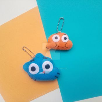 Gumball and Darwin, The Amazing World of Gumball by BakerStreetDolls