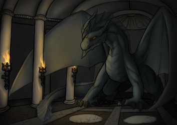 The silver dragons lair by aGentleGiant