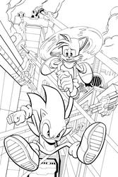 Sonic The Hedgehog by kentarcher