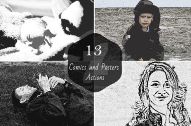 13 Comics and Posters Actions by sfahmad2kf