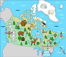 Canada Map Animation by Inilein