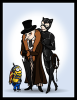Despicable Me 2 Batman Returns Halloween by Xenothere
