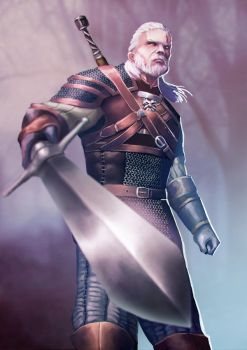 Geralt of Rivia by outlawzz83