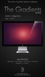 The Gradient Series - elegance by electroqute-designs