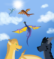 The Dragonets are coming by Technicollor