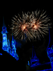 Castle Fireworks Show IMG 1071 by TheStockWarehouse